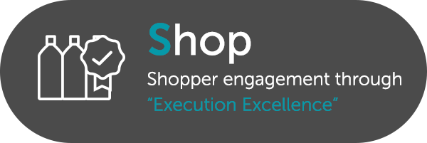 "Shop: Shopper engagement through ""Execution Excellence"""